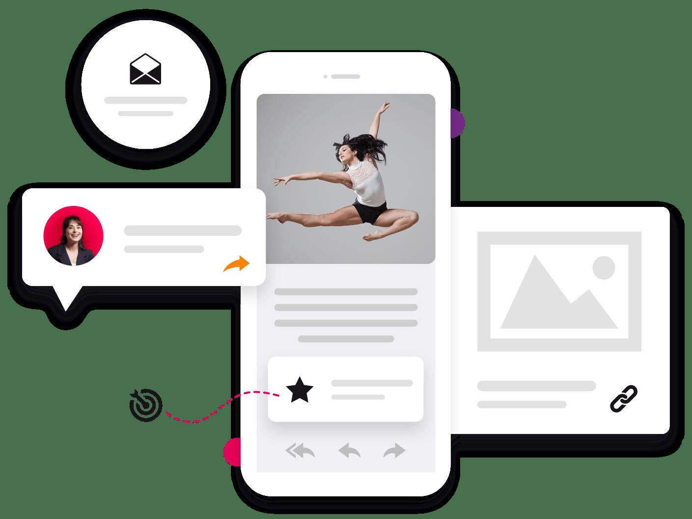 Marketing Solutions Illustration